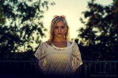 beautiful sunset (Thomas Gloner) Tags: sunset white bokeh pentax 50mm gold women beauty dream frau weis