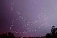 Tonights lightning over the city (onurbwa51) Tags: blitz thonderbolt lightning thunderstorm rain hail winterthur switzerland