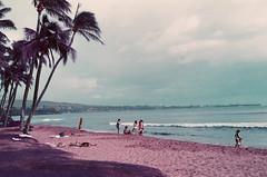 Kaanapali Beach, Maui (bloodyeyeballs) Tags: lomochrome lomochromepurple film 35mmfilm filmphotography filmisnotdead analogue buyfilmnotmegapixels ishootfilm staybrokeshootfilm thefilmcommunity leica leicam3 summilux50 hawaii maui lahaina streetphotography streetphoto leicam purple lomography lomographypurple