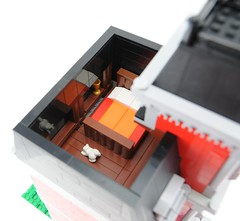 School House - Bedroom Attic (Ayrlego) Tags: lego modular bobs corrington eslandola weelond