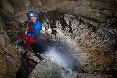 _DCP9980 (ChunkyCaver) Tags: water waterfall cave caving caver spelunking