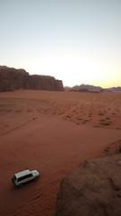 IMG_1958 (sheepman) Tags: wadirum jeep sunset