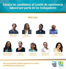 Candidatos Cali (ucooperativadecolombia) Tags: candidatos sedes ucc comit de convivencia octubre universidadcooperativadecolombia