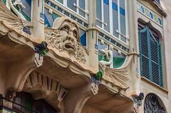 DSC_0163 (mkk3a) Tags: architektura canfortezarey hiszpania majorka mallorca palma palmademallorca secesja