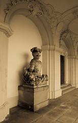 knights statue (-BigM-) Tags: germany deutschland photography fotografie palace knight herzog ludwig garten barock ludwigsburg mrchen ritter eberhard stil bigm wrttemberg schlos residenzschlos