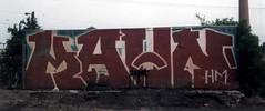 kahn39 (oldschooltwincitiesgraffiti) Tags: street art minnesota graffiti midwest paint stpaul minneapolis tags spray kahn mpls roller spraypaint twincities graff aerosol hm mn stp