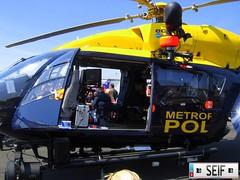 Eurocapter EC135 Biggin Hill England 2008 (seifracing) Tags: england cars hill police helicopter 2008 polizei metropolitan spotting services policia biggin polizia ec135 seifracing eurocapter