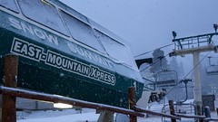 A Snowy East Mountain Express