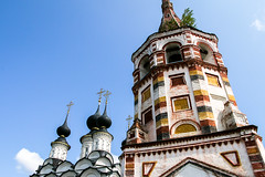 Saint Antipius and Saint Lazarus churches, Suzdal, Russia (inchiki tour) Tags: travel church architecture fairytale photo europe russia orthodox  suzdal 2014 goldenring
