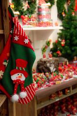 Snowman (Infomastern) Tags: christmas xmas snowman stocking jul vellinge sngubbe strumpa vellingeblomman