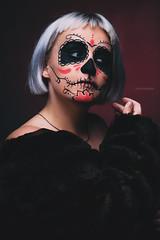 Happy Halloween (rob_1991) Tags: portrait woman halloween girl studio model discovery strobe jinbei strobist octabox lencarta