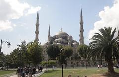 Blue Mosque (mashburger) Tags: travel blue digital turkey europe istanbul mosque canon5dmkii 5dmkii