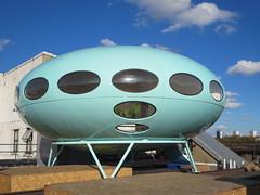 Centre for Remote Possibilities (socarra) Tags: ufo turquiose futurohouse craigbarnes mattisuuronen