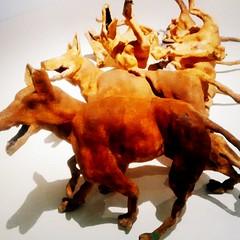 Txakurrak, Perros, Dogs. (UNAI ALBERDI ALONSO) Tags: color colour dogs animals de foto arte perros animales museo obra abstracta txakurrak artea kolore
