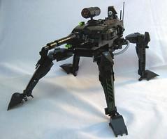 Blizzard Gunner (Blacktron2011) Tags: lego walker neo mecha moc blacktron