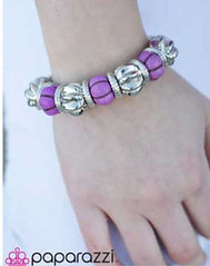Glimpse of Malibu Purple Bracelet K2 P9613-1