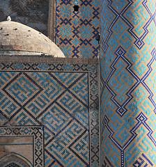 Tillya Kori Moschee Samarkand