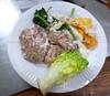 Paléo - Cervelle de porc avec des œufs et du cresson (icinger.fr) Tags: organe santé recette porc paléo cervelle