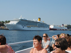 Cruise ship in Stockholm harbour (annamaart) Tags: summer stockholm archipelago sommar skrgrd stockholmarchipelago stockholmsskrgrd