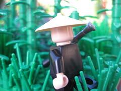 Moving Through the Ho Chi Minh Trail (tyfighter07) Tags: lego bamboo vietnam trail chi rpg ho minh vc vietcong brickbuilder7