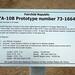 Republic YA-10B Thunderbolt II, s/n 73-1664