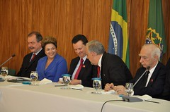 """Lideranças do PSD manifestam apoio a Dilma Rousseff • <a style=""""font-size:0.8em;"""" href=""""http://www.flickr.com/photos/60774784@N04/15718742045/"""" target=""""_blank"""">View on Flickr</a>"""