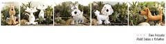 Pets personalizados de feltro (Dani_Fressato) Tags: pet doll artesanato craft felt gato cachorro feltro boneca trabalhomanual ideias retalhos danifressato