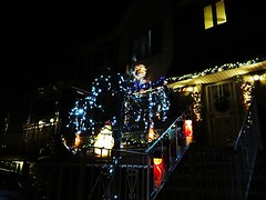 Astoria Queens, NY (lotos_leo) Tags: christmas light urban holiday ny night decoration queens astoria