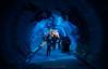 Step Inside (BnSalman89) Tags: ocean blue light fish colors canon mall aquarium dubai mood tube wide tunnel environment sharks الإمارات دبي مول حوض سمك قرش