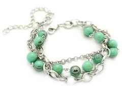 Glimpse of Malibu Green Bracelet P9510A-2