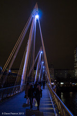 Crossing the bridge (Dave Pearce (London)) Tags: london night canon is focus sony southbank handheld manual 35mmf20 a6000 ilce6000