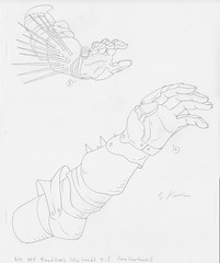 Metalocalypse - Bloodlines Signed Production Drawing (candoartist) Tags: animation bloodlines animationart dethklok metalocalypse productioncel productiondrawing