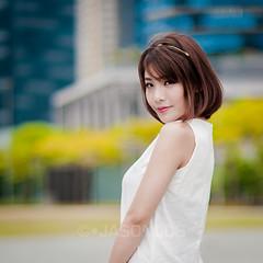 Alva - MB - 025 (jasonlcs2008) Tags: woman sexy alva girl beautiful beauty female marina asian bay nice model singapore resolution 2014 marinabay alvalee jasonlcs