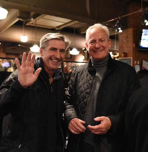 Supporters enjoy Gorbea's reception at Union Station Brewery. Photo by Elaine Fredrick.
