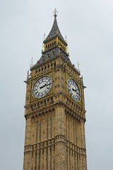 Iconic (Future-Echoes) Tags: london tower clock parliament bigben iconic clockfaces elizabethtower
