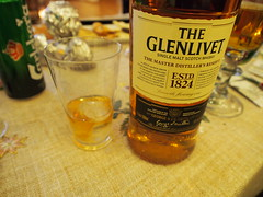 Glenlivet, top notch whiskey!