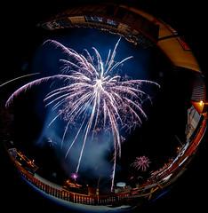 Happy new year! (Ole-Gunnar) Tags: new sky norway canon norge fireworks year firework newyear fisheye 180 rocket nightsky festivus finnmark hollidays 2015 sørvær sørøya 815mm canon815mm canonimagination