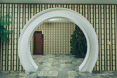Round doorway (reubenteo) Tags: travel hotel communism kimjongil socialism northkorea pyongyang dprk koryo kimilsung koryohotel kimjongun