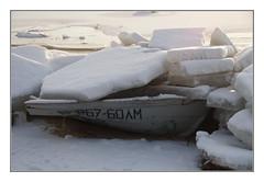 ...Crush !!! (Sergei P. Zubkov) Tags: ice home boat january gulfoffinland 2015 terijoki