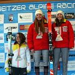Schweitzer FIS SL & GS January 2015 - Podium shots  PHOTO CREDIT Johnny Crichton (2)
