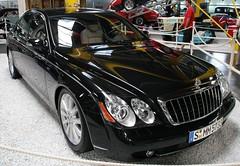 Modern Maybach (Schwanzus_Longus) Tags: 57 black car classic german germany job limo limousine maybach modern motorshow museum oldtimer paint saloon sedan sinsheim true two vehicle vintage 57s