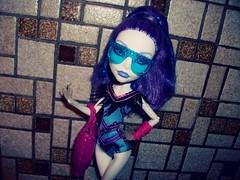 Don't fuck with my love (MyMonsterHighWorld) Tags: monster swim high doll class line spectra mattel 2014 vondergeist