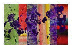 Iris  quilt  II (Karen McQuilkin) Tags: iris spring quilt block karenmcquilkin