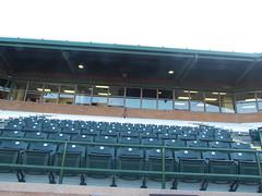 Press Box at Scottsdale Stadium -- Scottsdale, AZ, March 08, 2016 (baseballoogie) Tags: arizona baseball stadium az giants scottsdale ballpark springtraining sanfranciscogiants cactusleague baseballpark scottsdalestadium 030816 canonpowershotsx30is baseball16