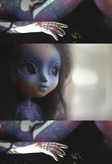 estrella (minxy_doll (poordittums)) Tags: art doll galaxy pullip custom sirenita calavera igsirenita