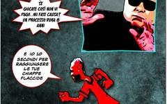 Anche al vecchio marpione meneghino possono saltare i nervi... kribbio! (SatiraItalia) Tags: vignette satira umorismo