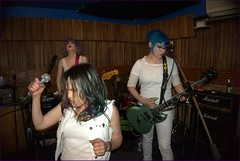 The Droogettes(Philadelpia,PA) (The All-Nite Images) Tags: nyc music newyork les female punk manhattan live oi aclockworkorange ottosshrunkenhead ottoyamamoto theallniteimages thedroogettes witchesnightout14