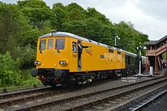73952 + 20188 at Bewdley (Adam McMillan Railway Photography) Tags: stand working kidderminster bridgenorth bewdley 20188 73952 d8188