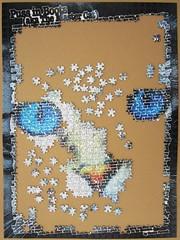 Written Images: Cat (Leonisha) Tags: puzzle unfinished jigsawpuzzle