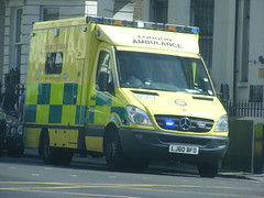 4179 - LAS - LJ60 BFO - 122 (Call the Cops 999) Tags: uk las england london mercedes benz 1 britain united sunday great central may kingdom ambulance vehicles health national nhs trust gb vehicle service emergency 112 services 999 sprinter 2016 responding